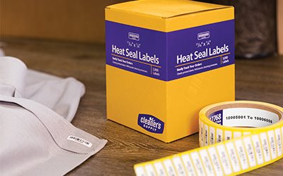 Introducing NEW Heat Seal Machine and Stripe Heat Seal Labels